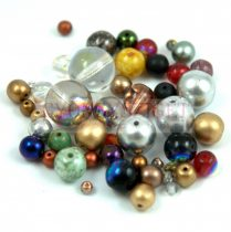 Czech pressed mixed beads - 20g