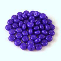 Cseh préselt rondelle gyöngy - Alabaster Violet - 2.5 x 4 mm