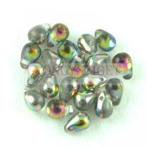Cseh préselt csepp gyöngy - Crystal Iris - 4x6mm