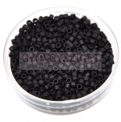Miyuki delica gyöngy 0310 - Matt Opaque Black - 10/0