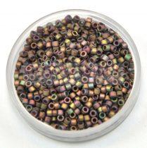 Miyuki delica gyöngy 0380 - matt metál keki irisz - 10/0