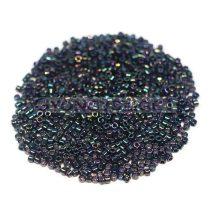 Miyuki delica gyöngy 0003 - metál zöld irisz - 11/0