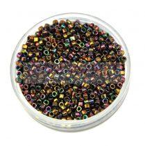 Miyuki delica gyöngy 0023 - metál arany irisz - 11/0 - 20g