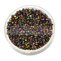 Miyuki delica gyöngy 0023 - metál arany irisz - 11/0 - 20g-AKCIOS