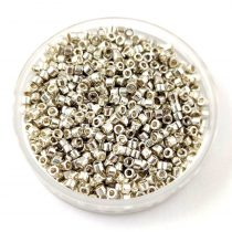 Miyuki delica gyöngy 0035 - galvanizált ezüst - 11/0 - 20g-AKCIOS