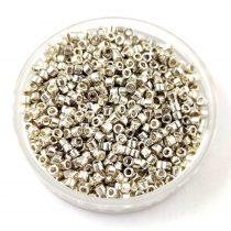 Miyuki Delica Japanese Seed Bead  size : 11/0 - 0035 Galvanised Silver