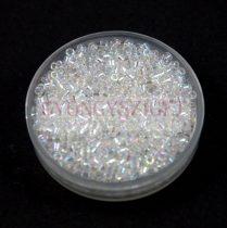Miyuki delica gyöngy 0051 - kristály ab - 11/0 - 20g-AKCIOS