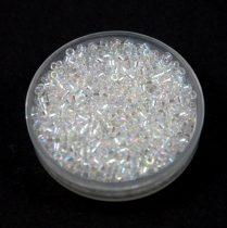Miyuki delica gyöngy 0051 - kristály ab - 11/0