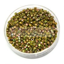 Miyuki Delica Japanese Seed Bead  size : 11/0 - 0133 Opaque Golden Olive Luster 20g