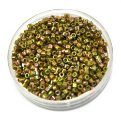 Miyuki delica gyöngy 0133 - Gold Luster Rainbow Olive - 11/0