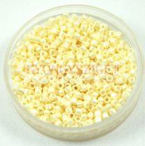 Miyuki Delica Japanese Seed Bead size : 11/0 - 0203 Ceylon Cream 20g