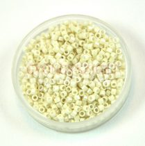 Miyuki Delica Japanese Seed Bead  size : 11/0 - 0211 Opaque Limestone Luster 20g