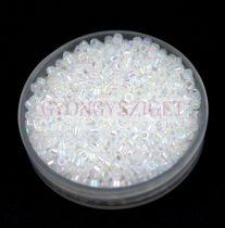 Miyuki delica gyöngy 0222 - Opal White AB - 11/0 - 20g - AKCIOS