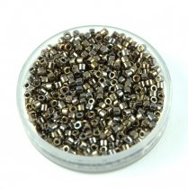 Miyuki Delica Japanese Seed Bead size : 11/0 - 0254 - Gold Luster Opaque Brown