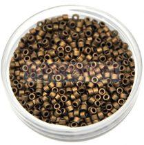 Miyuki delica gyöngy 0322 - matt metál bronz - 11/0 - 10g-AKCIOS