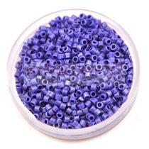 Miyuki delica gyöngy 0361 - lüszteres matt bíborkék - 11/0 - 20g-AKCIOS