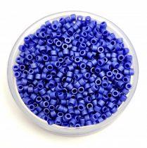 Miyuki Delica Japanese Seed Bead  size : 11/0 - 0361 Matte Cobalt Luster