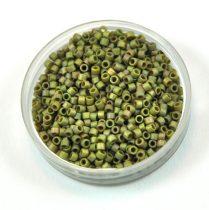 Miyuki delica gyöngy 0372 - matt metál világos lüszteres oliva - 11/0