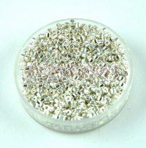Miyuki delica gyöngy 0551 - Bright Sterling Silver Plated (Sterling Ezüst bevonat) - 11/0 - 20g - AKCIOS