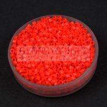 Miyuki delica gyöngy 0727 - Opaque Light Red - 11/0 - 20g - AKCIOS