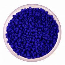 Miyuki delica gyöngy 0756 - matt kobaltkék - 11/0