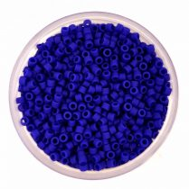 Miyuki delica gyöngy 0756 - matt kobaltkék - 11/0 - 20g-AKCIOS