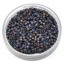 Miyuki delica gyöngy 0884 - Matt Purple Iris - 11/0