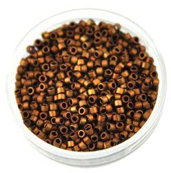 Miyuki delica gyöngy 1051 - Matte Dark Copper - 11/0