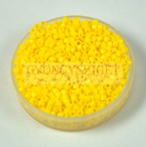 Miyuki Delica Japanese Seed Bead  size : 11/0 - 1132 Opaque Canary Yellow - 20g