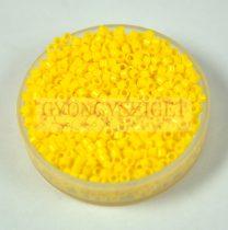 Miyuki delica gyöngy 1132 - telt kanári sárga