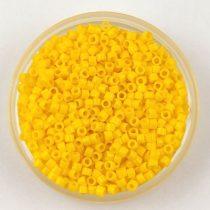 Miyuki delica gyöngy 1132 - Opaque Canary Yellow