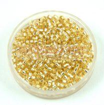 Miyuki delica gyöngy 1212 - Silver lined Crystal Ivory - 11/0 - 20g - AKCIÓS