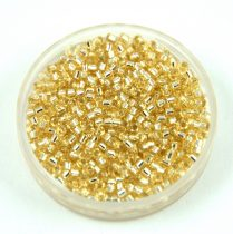 Miyuki delica gyöngy 1212 - Silver lined Crystal Ivory - 11/0