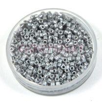 Miyuki delica gyöngy 1570 - Opaque Silvergray Luster - 11/0 - 20g-AKCIOS