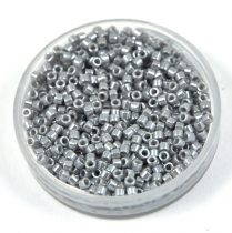 Miyuki Delica Japanese Seed Bead  size : 11/0 - 1570 Opaque SilverGray Luster