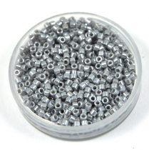 Miyuki Delica Japanese Seed Bead  size : 11/0 - 1570 Opaque SilverGray Luster