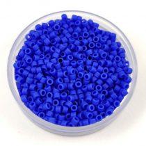 Miyuki delica gyöngy 1588 - Matte Opaque Cyan Blue - 20g - AKCIOS