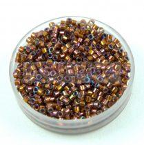 Miyuki delica gyöngy 1691 - Silver Lined Glazed Dark Saffron AB - 11/0 - 20g - AKCIOS