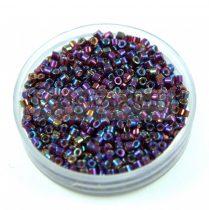 Miyuki delica gyöngy 1694 - Silver Lined Berry AB - 11/0 - 20g - AKCIOS