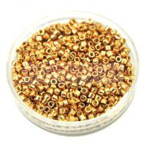 Miyuki Delica Japanese Seed Bead size : 11/0 – 1834 Galvanised Champagne Duracoat 20g