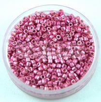 Miyuki delica gyöngy 1840 - Duracoat Galvanised Hot Pink - 11/0 - 20g - AKCIOS