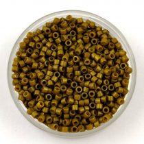 Miyuki Delica Japanese Seed Bead  size : 11/0 - 2141 Duracoat Spanish Olive