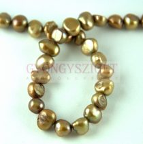 Édesvizi tenyésztett gyöngy - Antique Gold Iris - 3 - 7 mm - kb. 50db