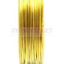 Ékszerdrót - 1mm - 2.5m - arany