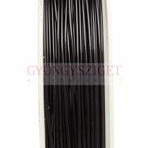 Ékszerdrót - 1mm - 2.5m - fekete