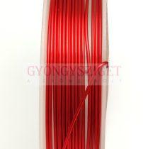 Ékszerdrót - 1mm - 2.5m - piros