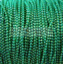 Chain - with balls - Mint Gold - 1.5mm