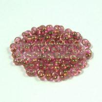 Cseh farfalle gyöngy - kristály-piros lüszter - 2x4mm