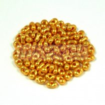 Cseh farfalle gyöngy - rosegold - 2x4mm