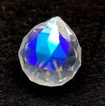 Feng Shui kristály - Crystal AB - 36x31mm